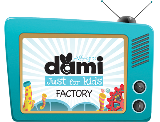 logo Dami Just for kids televisione